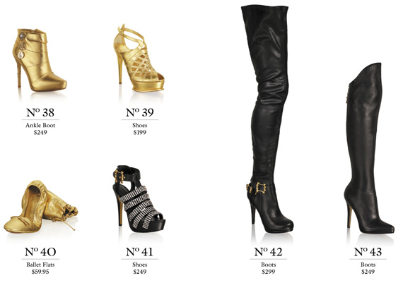 Anna Dello Russo at H&M Lookbook + Price List