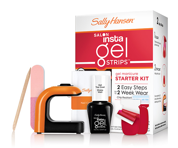 Sally Hansen Salon InstaGel Strips and Salon GelPolish Starter Kits