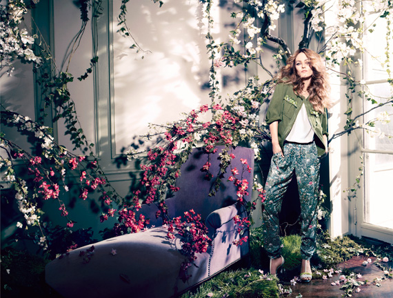 Vanessa Paradis for H&M Conscious Collection Ad Campaign