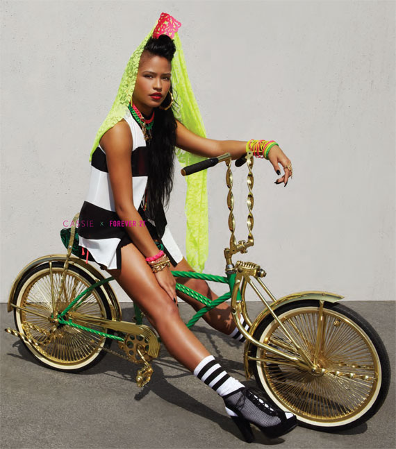 Cassie x Forever 21 Forever LA Summer 2013 Capsule Collection