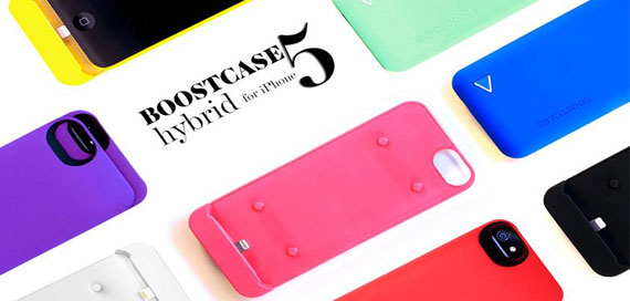 Boostcase Hybrid Battery for iPhone 5