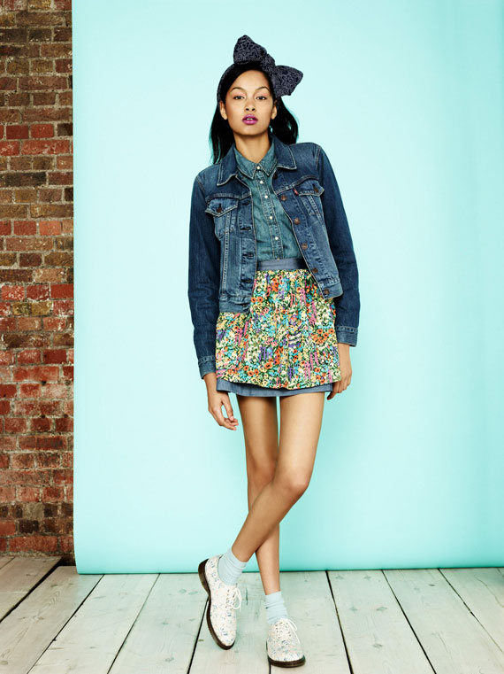 Levi's x Liberty of London Spring/Summer 2013 Collection