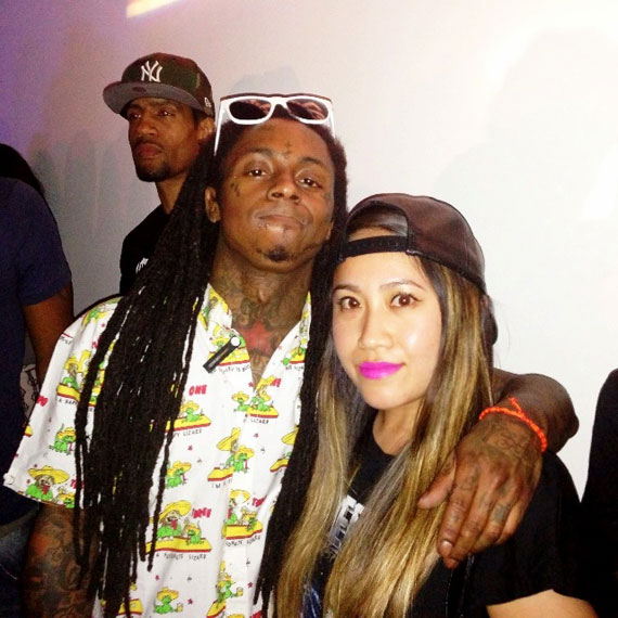 Lil Wayne Kicks off SPECTRE By SUPRA in Miami